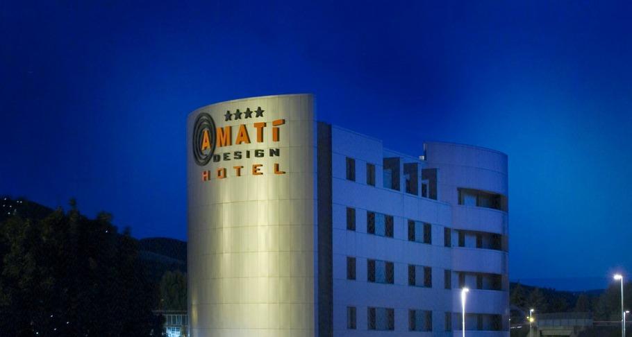 Amat design hotel dove dormire a bologna e provincia for Hotel amati bologna